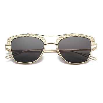 WX xin Moda Gafas De Sol Hembra Personalidad Cara Redonda ...