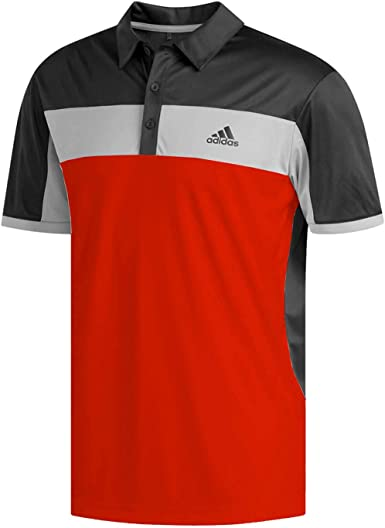 adidas Climalite Blocked Polo Golf Shirt Men's New - Choose Color & Size