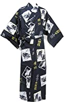 362530aa1 sakura Women Japanese Yukata obi belt set / Indigo goldfish pattern