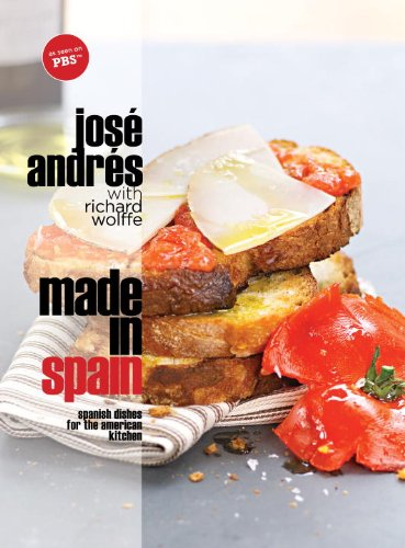 Made in Spain: Spanish Dishes for the American Kitchen cover