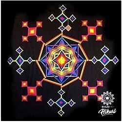 Ojo de Dios Mandala Tejido