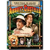 AFRICA SCREAMS - ABBOTT & COSTELLO - DVD