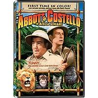 AFRICA SCREAMS - ABBOTT & COSTELLO - DVD
