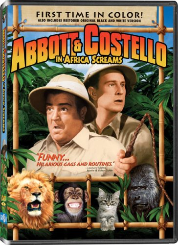 Abbott and Costello in Africa Screams - In COLOR! -