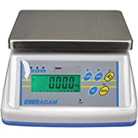 Adam Equipment WBW 6aM NTEP Approved Washdown Scale, 6lbs Capacity, 0.002lbs Readability