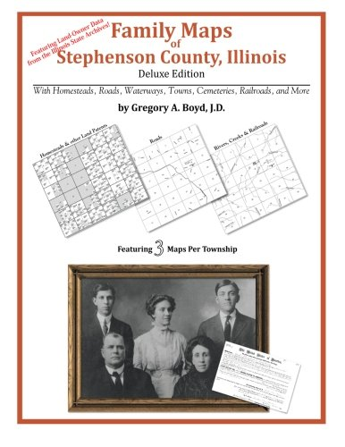 Family Maps of Stephenson County, Illinois