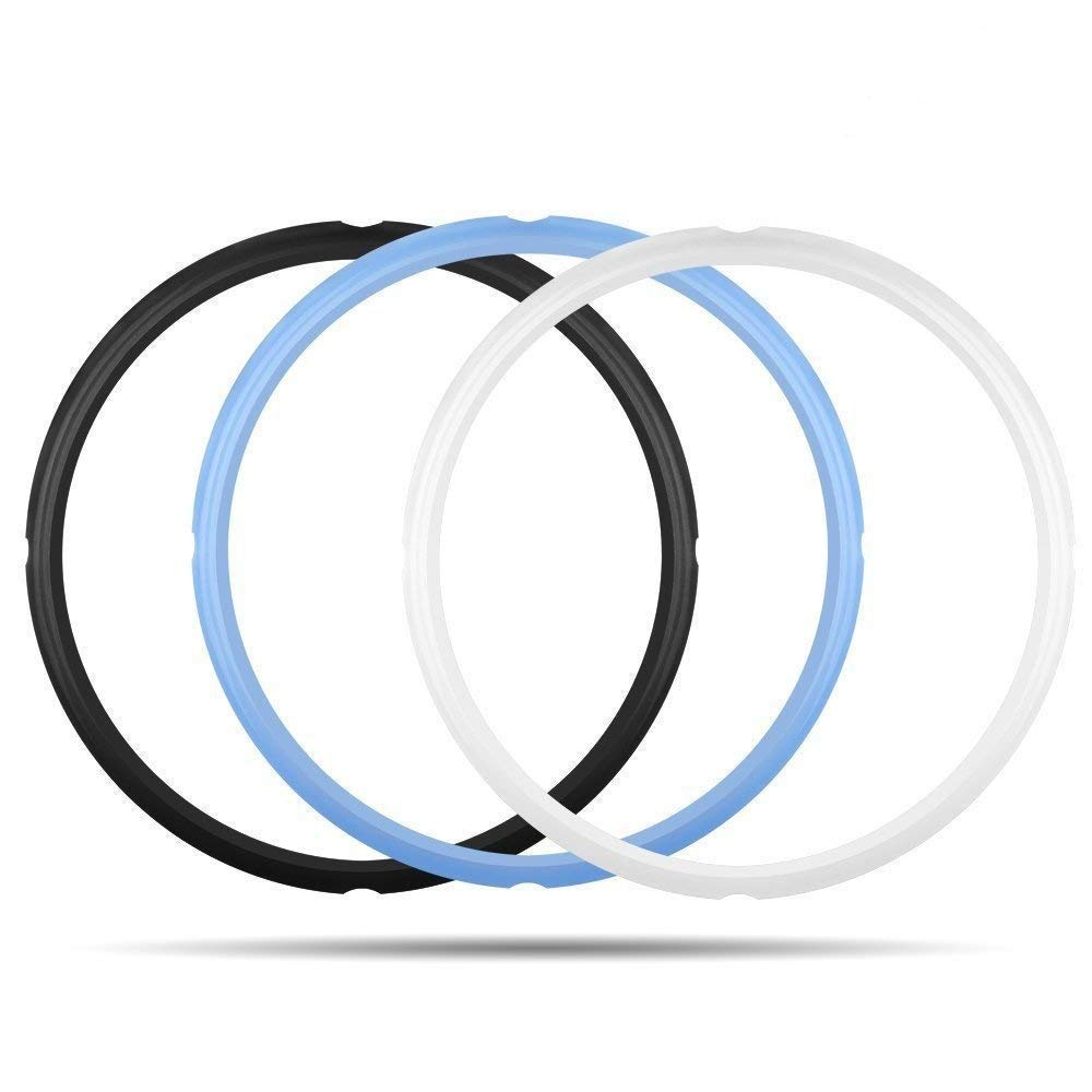 Mocoosy 3PCS Silicone Sealing Ring for Instant Pot Sealing Ring for 6 qt 5qt Pot, Sweet and Savory, Food-grade Silicone Fits IP-DUO60, IP-LUX60, IP-DUO50, IP-LUX50, Smart-60, IP-CSG60 and IP-CSG50