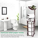 TomCare Toilet Paper Holder Toilet Paper Stand 4