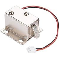 Dc 12V Solenoide Electromagnético Cerradura Eléctrica Ampliamente Utilizado Gabinete de la Puerta Cajón Control de Acceso para Cajón Cajón Cerradura de Seguridad Bloqueo Inteligente