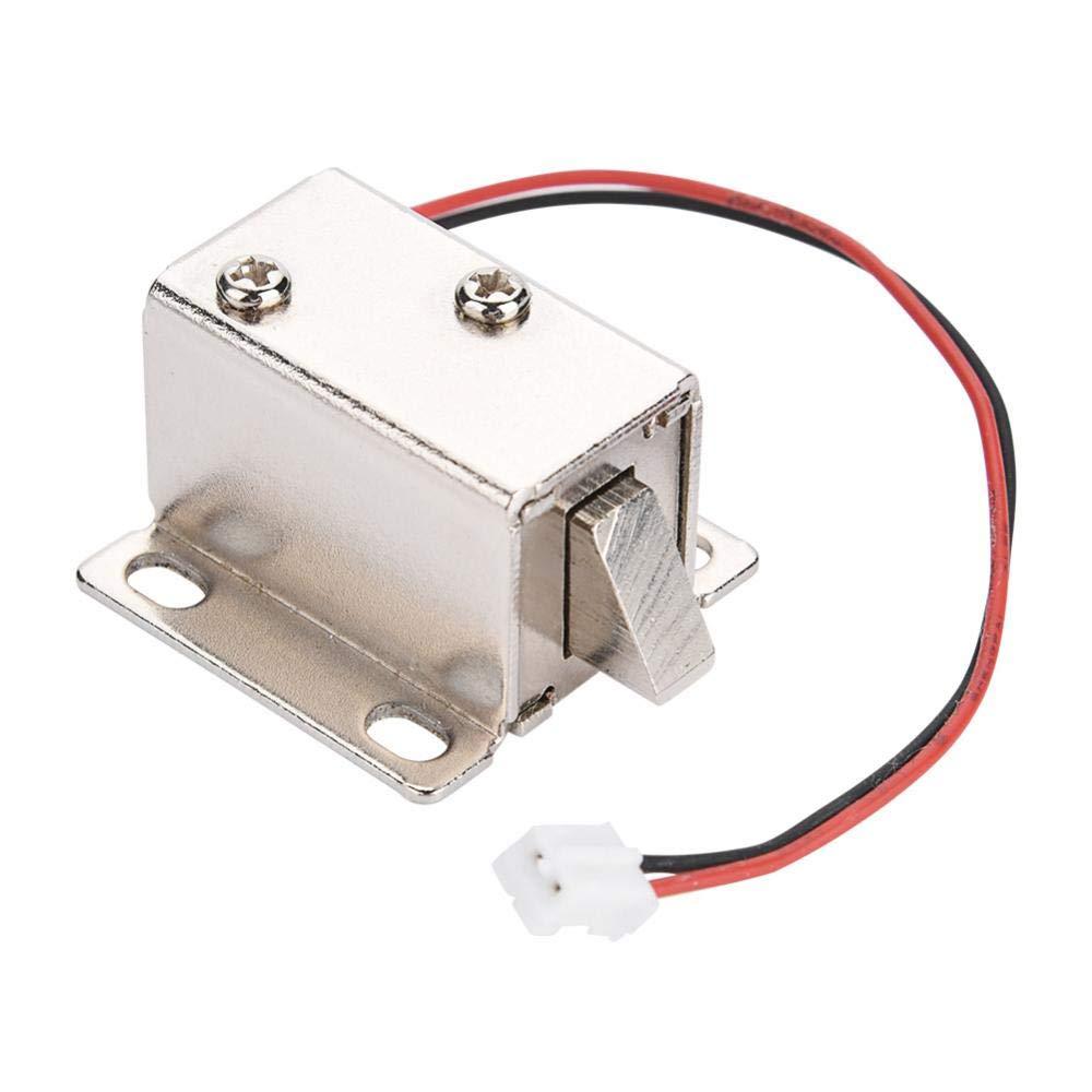 Dc 12 V Solenoid Elektromagnetische Elektroschloss Weit Verbreitet Tü r Schublade Access Control fü r Schrank Schublade Sicherheitsschloss Intelligente Sperre Sonew