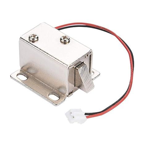 Dc 12V Solenoide Electromagnético Cerradura Eléctrica Ampliamente Utilizado Gabinete de la Puerta Cajón Control de Acceso