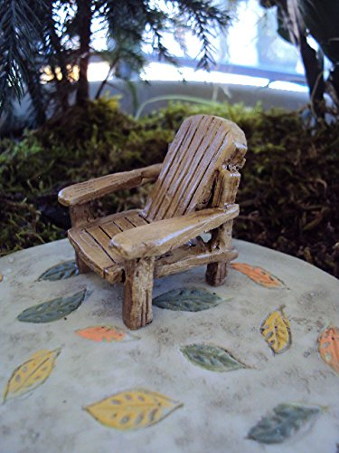 Miniature Fairy Garden Adirondack Chair product image