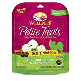Wellness Petite Treats Small Breed Soft Natural Grain Free Dog Treats, Lamb & Apples, 6-Ounce Bag