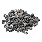 """Stanbroil 10 Pounds Lava Rock Granules for Fire Bowls,Fire Pits,Gas Log Sets, and Indoor or Outdoor Fireplaces - Medium (1/2""""- 1"""")"""