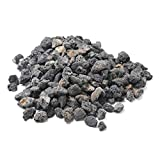 Stanbroil 10 Pounds Lava Rock Granules for Fire Bowls,Fire Pits,Gas Log Sets, and Indoor or Outdoor Fireplaces - Medium (1/2''- 1'')