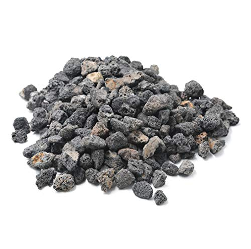 - Stanbroil 10 Pounds Lava Rock Granules for Fire Bowls,Fire Pits,Gas Log Sets, and Indoor or Outdoor Fireplaces - Medium (1/2