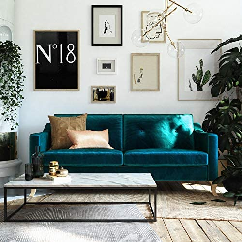 Mr. Kate Tess Sofa with Soft Pocket Coil Cushions,...