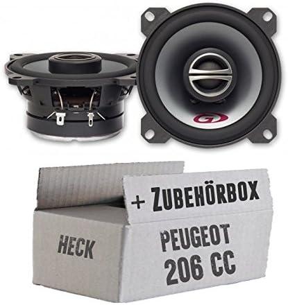 Alpine Spg 10c2 10cm Koax System Einbauset Für Peugeot 206 Cc Heck Just Sound Best Choice For Caraudio Navigation