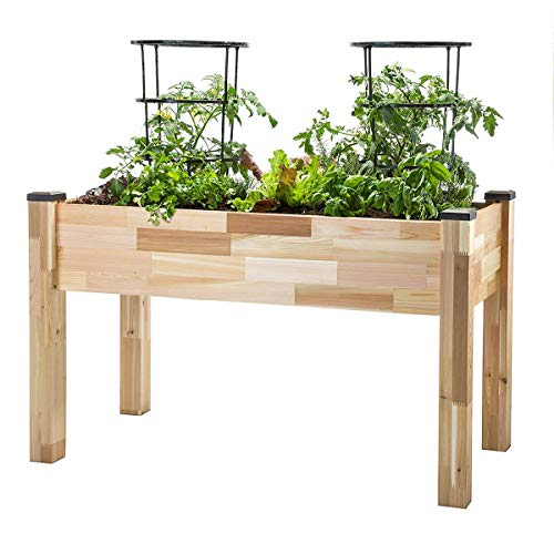 CedarCraft Elevated Cedar Planter (23