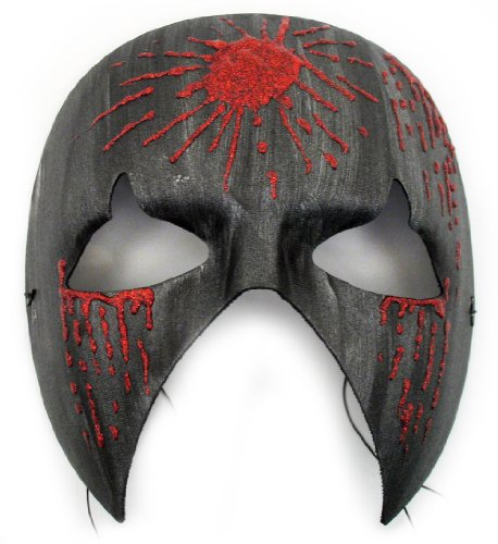 Executioner Halloween Hand-Painted Men's Masquerade Mask (Painted Halloween Masks)