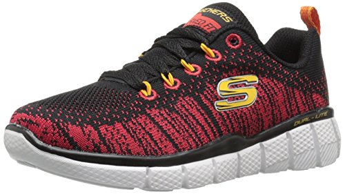 Skechers Equalizer 2.0 - Perfect Game - Zapatillas Niñas Negro (Black/Red)