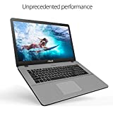 ASUS VivoBook Pro 17 Full HD Slim Laptop, 8GB, 1TB Solid State Drive, Intel Core i7-7500U up to 3.50GHz, NVIDIA GeForce 940MX, Backlit Keyboard, Windows 10, Grey