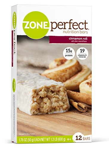 ZonePerfect Nutrition Bars Cinnamon Count product image