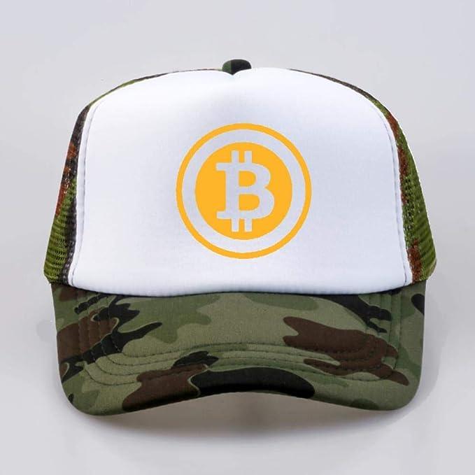 LLDS Hombres Mujeres Gorra de Camionero Sombrero Bitcoin bit ...