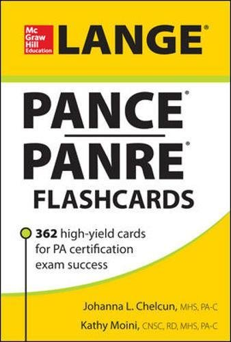 LANGE PANCE/PANRE Flashcards (Lange Flashcards)