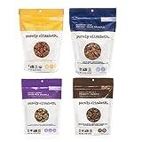 Purely Elizabeth Ancient Grain Granola Variety 4 Pack – Original + Blueberry Hemp + Coconut Cashew + Chocolate Sea Salt Probiotic Granola Review