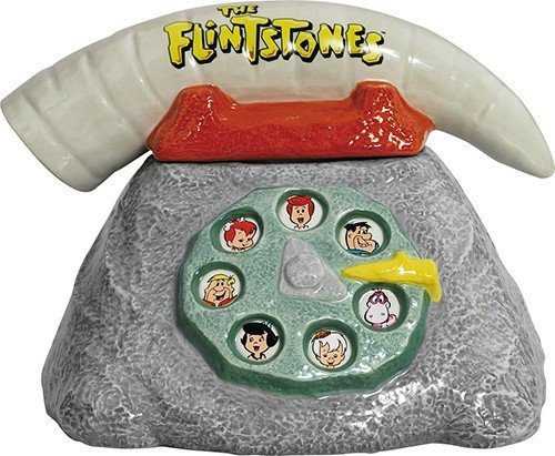 Westland Giftware The Flintstones Telephone Cookie Jar