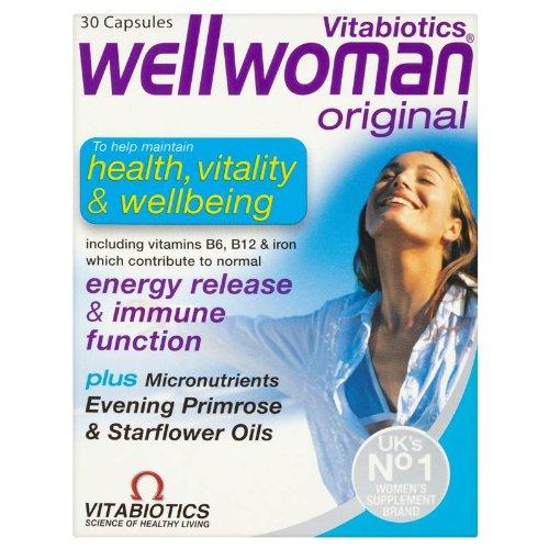 Wellwoman Advanced Vitamin & Mineral Formula With Evening Primrose & Starflower Oils 30 Capsules For Sale