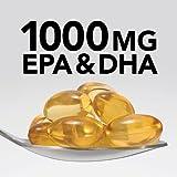 GNC Triple Strength Omega 3 Fish Oil 1000mg, 120