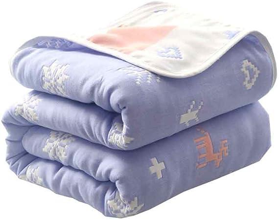 Mantas, algodón Grueso Mantas, edredones Toalla japoneses, Siesta Aire Acondicionado Mantas de algodón, edredones, Mantas Toalla. (Color : I, Size : 180cm*200cm): Amazon.es: Hogar