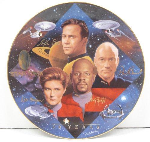 Hamilton Collection 1997 Star Trek 30 Years