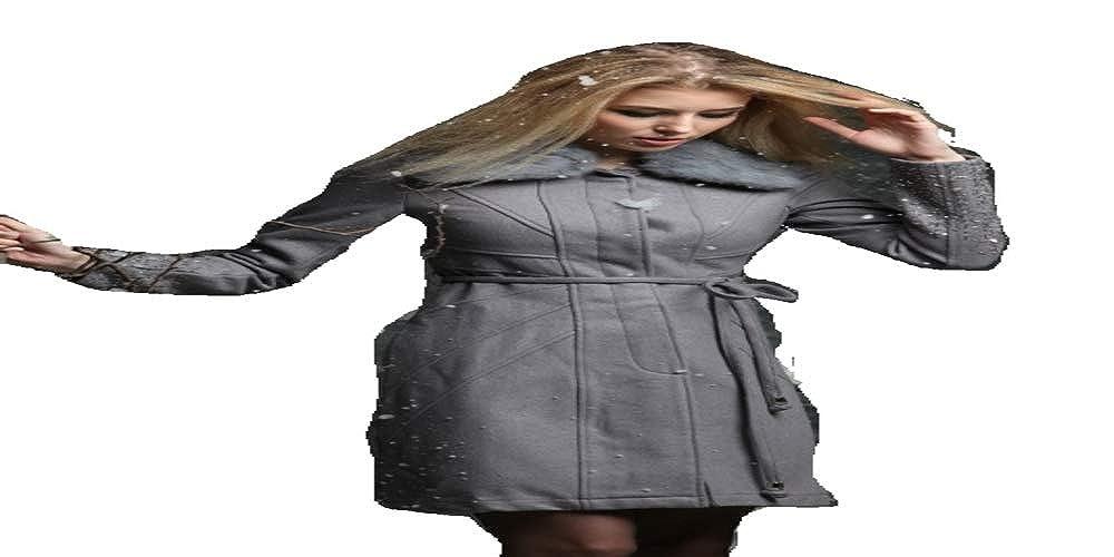 LAZYDAISY Limited Edition Original Fur Wool Jacket (Black, XL)