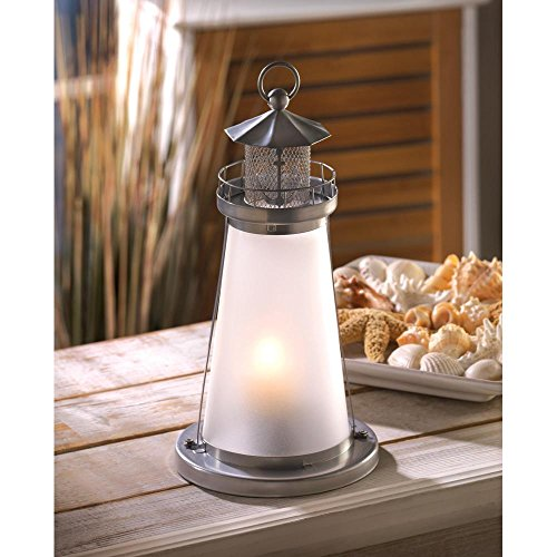 Candleholders Lanterns Glass Lookout Lighthouse Candle Lamp Candle Holder Lantern S Nautical Decor -