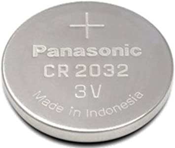 10x CR2032 Panasonic Knopfzelle Lithium 3 Volt Batterie 10 Stück CR2032