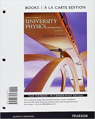 Amazon.com: University Physics with Modern Physics, Books a la ...