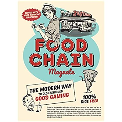 Food Chain Magnate by Splotter: Toys & Games