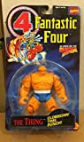 Toy Biz Marvel Fantastic Four Thing (Clobberin Time Punch) Action Figure 4.75 Inches