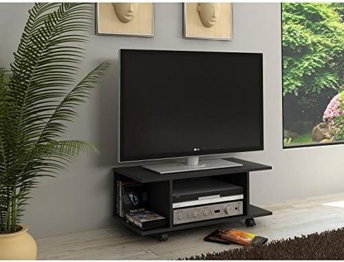 Mueble para televisor, color negro, Hardy 80 cm: Amazon.es: Hogar