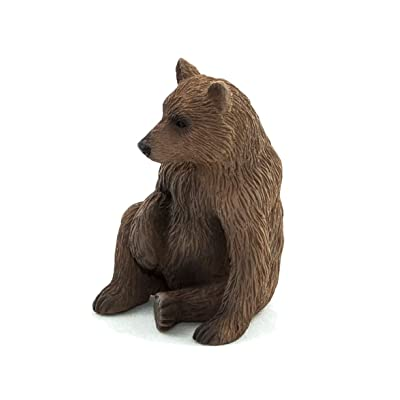 MOJO Grizzly Bear Cub Toy Figure: Toys & Games