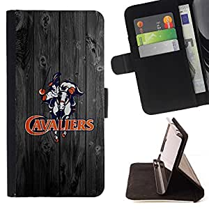 DEVIL CASE - FOR HTC One M9 - Virginia Cavalier Football - Style PU Leather Case Wallet Flip Stand Flap Closure Cover