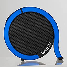 Cindley A 10 Portable Outdoor and Home Bluetooth 4.0 Speaker, Wireless Subwoofer with 10 Hour Rechargeable Li-ion Battery Life, Powerful 5W Audio Driver for All Bluetooth Devices (Blue)