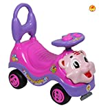 BAYBEE Tiger Ride-On Car (Pink)