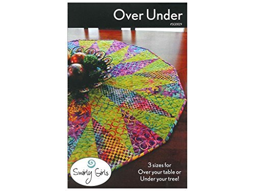 (Swirly Girls Design Over Under Tree Skirt)
