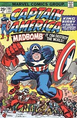captain america 193 - 1