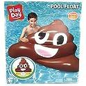 Play Day Inflatable Emoji Poop Float