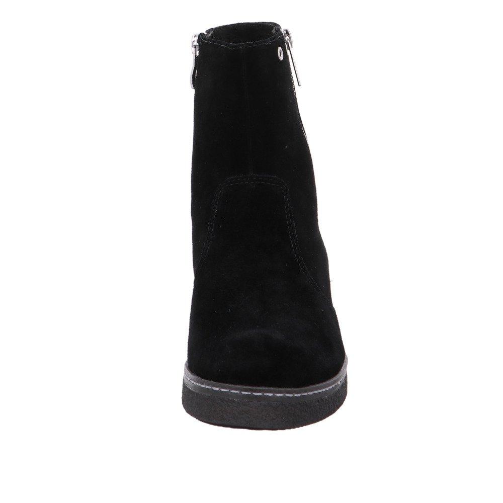 CAPRICE Damen 26409 Schwarzer Veloursleder Winterstiefel schwarz schwarz schwarz 849df1